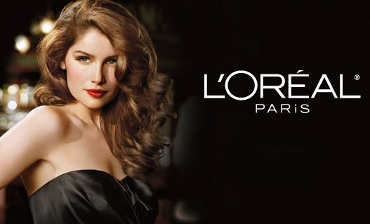 woman love loreal